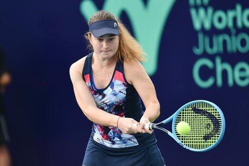 Снигур проиграла в финале юниорского Итогового турнира