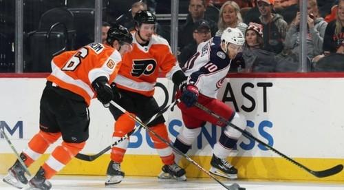 НХЛ. 7 шайб Филадельфии, успехи Питтсбурга, Виннипега и Бостона