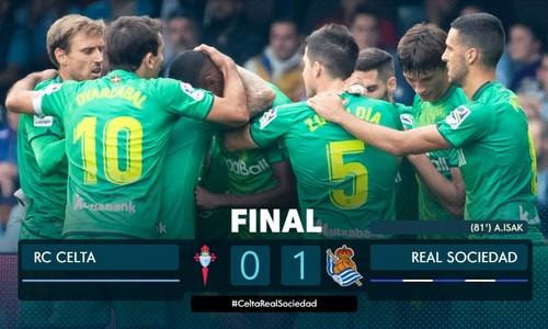 Реал Сосьєдад зрівнявся за очками з Барселоною і Реалом в Ла Лізі