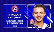 Леднев и Рябоконь – лучшие игрок и тренер в 12-м туре УПЛ
