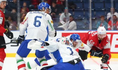 ЧМ по хоккею. Италия - Латвия. Смотреть онлайн. LIVE трансляция