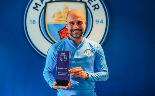 АПЛ назвала Гвардиолу лучшим тренером в сезоне 2018/19
