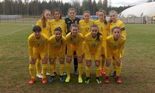 Сборная Украины WU-16 с поражения стартовала на турнире развития УЕФА