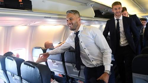 Марлос прибыл с Шахтером в Запорожье