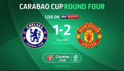 Манчестер Юнайтед победил в гостях Челси в Кубке английской лиги
