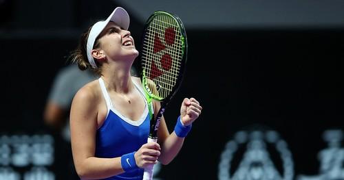 Підсумковий турнір WTA. Турнірні розклади для Червоної групи