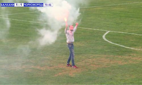 Скандальный матч Балканы - Черноморец будет доигран в среду