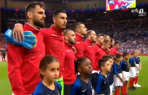 Франция оштрафована на 20 тысяч евро за неправильный гимн Албании
