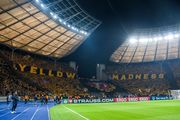 ВИДЕО. Желтое безумие. 35 тысяч фанатов Динамо Дрезден в Берлине