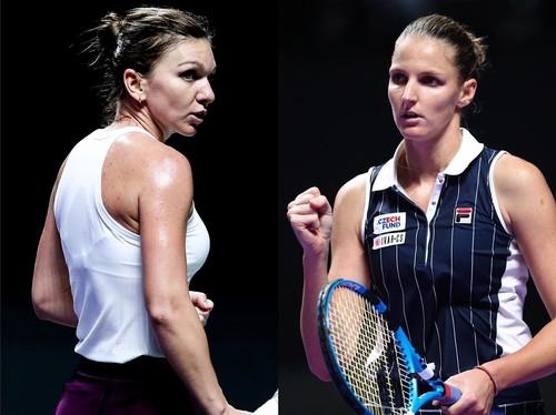 Определились пары полуфиналисток Итогового турнира WTA