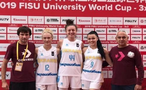 Женская сборная Украины 3х3 вышла в четвертьфинал студенческого Кубка мира