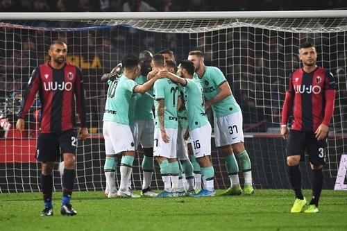 Болонья – Интер – 1:2. Видео голов и обзор матча