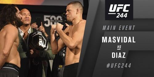Хорхе Масвидаль победил Нейта Диаза в главном поединке UFC 244