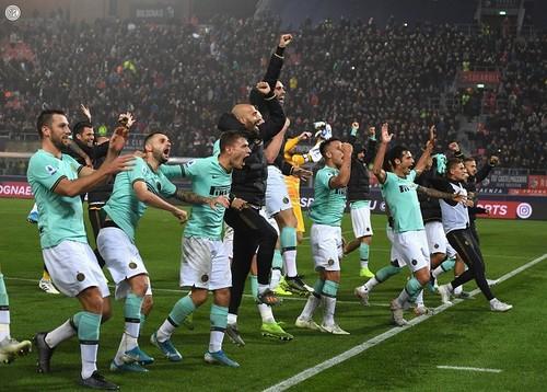 Интер выиграл все гостевые матчи сезона в чемпионате