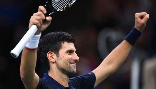 Джокович в пятый раз выиграл Мастерс в Париже