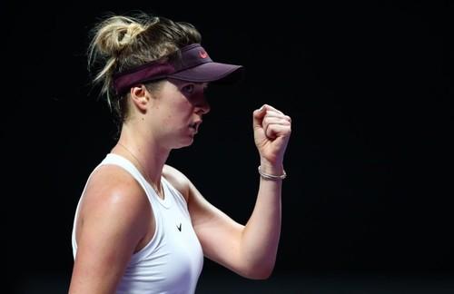 Главные цифры Свитолиной на Итоговом турнире WTA