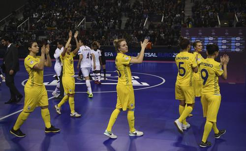 Женская сборная Украины разгромила Словакию в первом спарринге