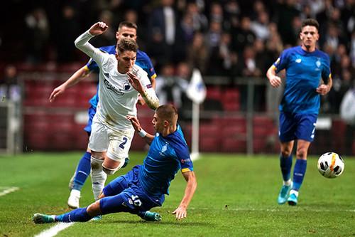Динамо сыграло вничью с Копенгагеном и во втором поединке