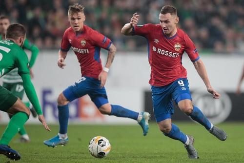 Группа H. Ференцварош Реброва снова отобрал очки у ЦСКА