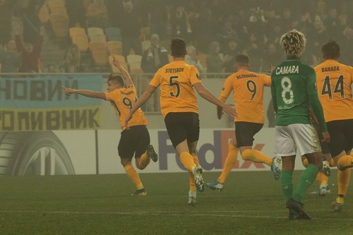 Александрия стала 6-м украинским клубом, отыгравшим два гола в еврокубках