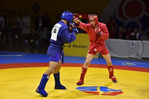 Владислав Руднев стал двукратным чемпионом мира по самбо