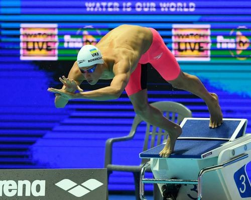 ВИДЕО. Украинский пловец Романчук установил рекорд Кубка мира