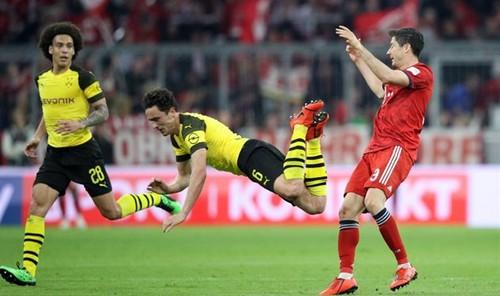 Смотреть бавария боруссия д на канале футбол