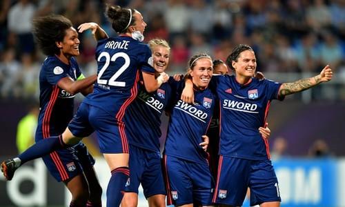Відбулося жеребкування 1/4 фіналу жіночої Ліги чемпіонів
