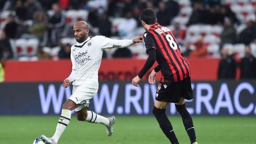 После ничьей в Ницце Бордо вышел на третье место Лиги 1