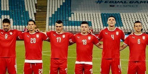 Сербия объявила состав на матч с Украиной