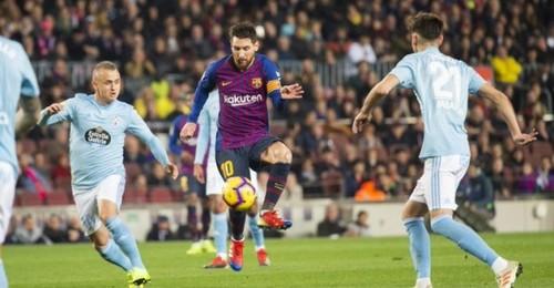 Где смотреть онлайн матч чемпионата Испании Барселона - Сельта