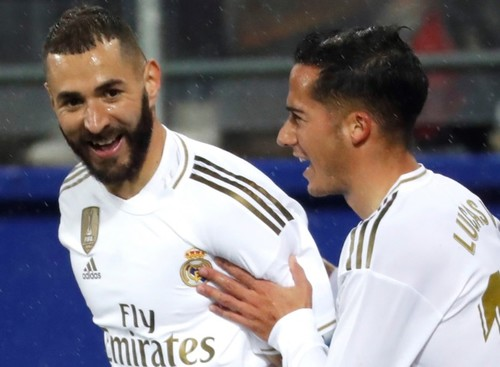 Реал разобрался с Эйбаром и возглавил чемпионат Испании