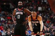 НБА. 68 очков от Хардена и Уэстбрука помогли Хьюстону обыграть Чикаго