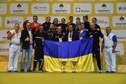 Сборная Украины по самбо завоевала шесть медалей на чемпионате мира