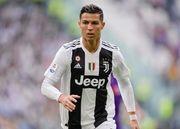Роналду уехал со стадиона до окончания матча с Миланом