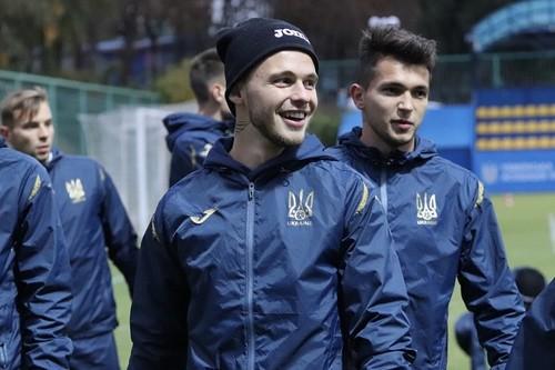 Молодіжка України U-21 розпочала підготовку до матчу з Данією