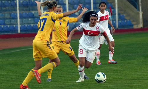 Украина обыграла Турцию со счетом 4:0