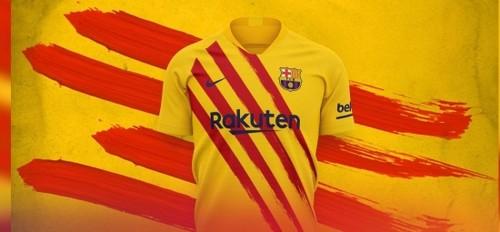 ВІДЕО. Барселона презентувала форму в кольорах каталонського прапора