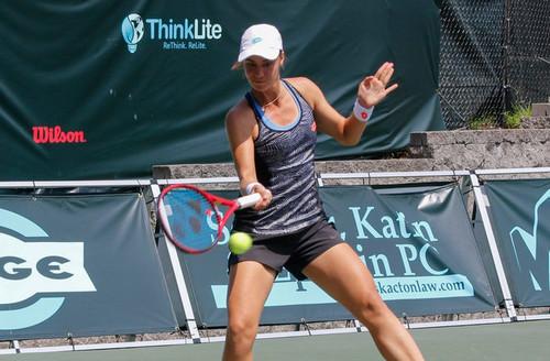Калинина вышла во второй круг турнира в Хьюстоне