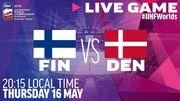 ЧС з хокею. Фінляндія - Данія. Дивитися онлайн. LIVE трансляція