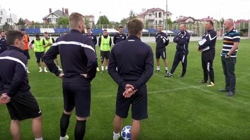 ВИДЕО. Черноморец готовится к игре с Олимпиком