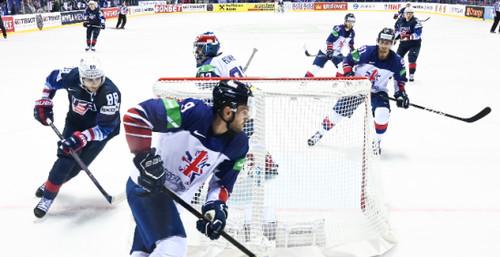 ЧМ по хоккею. 4 победа Швейцарии, 6 шайб США