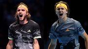 Підсумковий турнір ATP. Турнірні розклади для групи Андре Агассі