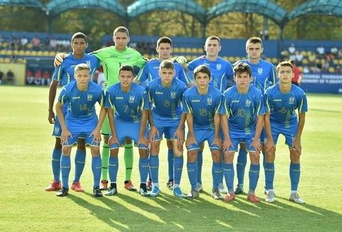 Сборная Украины U-17 обыграла Грузию в матче отбора Евро-2020