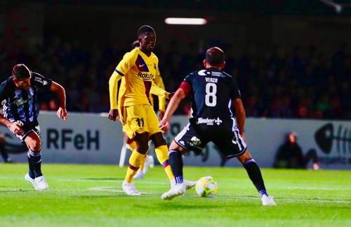 Барселона обыграла Картахену в благотворительном матче