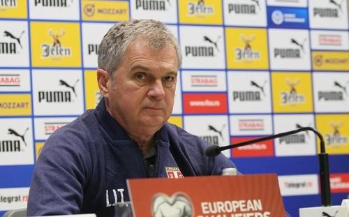 Тренер Сербии: «Об Украине будем думать после матча с Люксембургом»