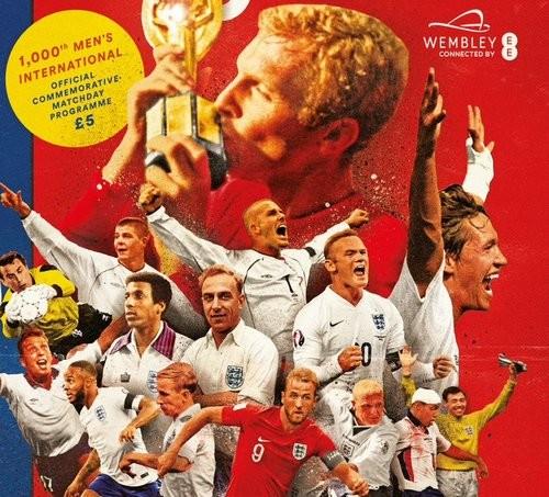 Сборная Англии проведет 1000-й матч в своей истории