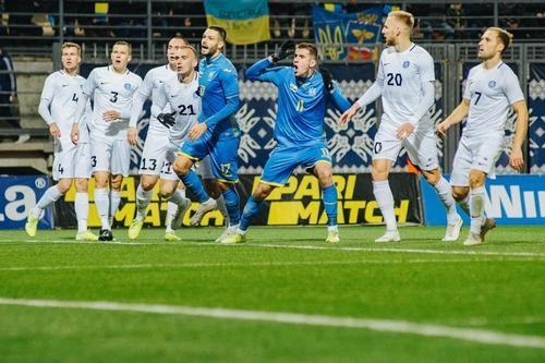 Збірна України в компенсований час вирвала перемогу у Естонії
