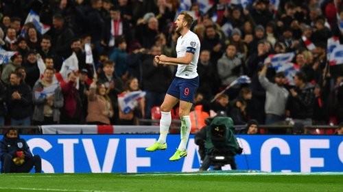 Збірна Англії забила 5 м'ячів у першому таймі поєдинку з Чорногорією
