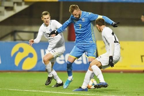 Збірна України вперше зіграла на Славутич-Арені